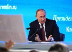 На «Прямой линии» Путина оставили в одиночестве